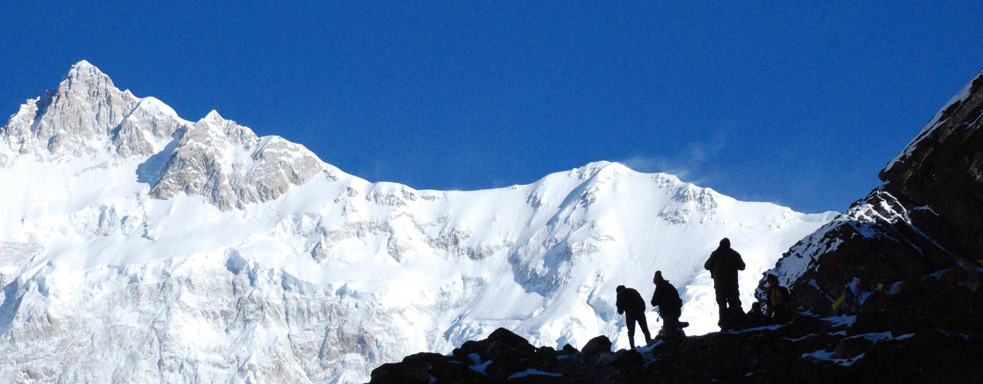 Mt Kanchenjunga from Goechela Pass Sikkim